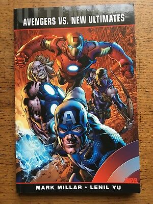 Ultimate Comics Avengers vs New Ultimates by Mark Millar (paperback)