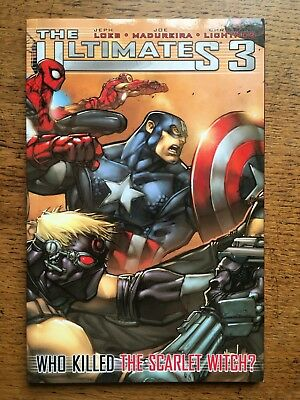 Ultimate Comics: The Ultimates 3 - Who Killed the Sc... by Jeph Loeb (paperback)