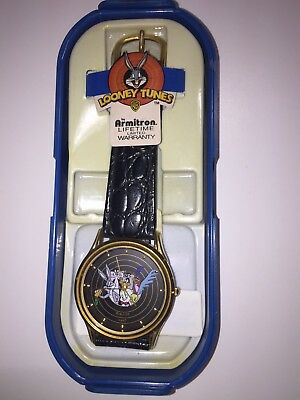 Vintage 1992 Armitron Warner Brothers Bugs Bunny & Looney Tunes Watch New NOS