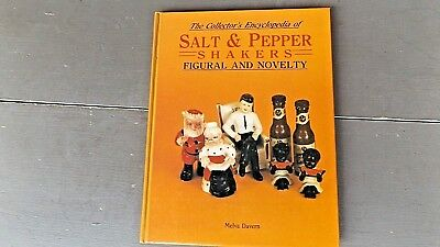 The Collectors Encyclopedia Of Salt & Pepper Shakers  Glass  Book Cr 1985