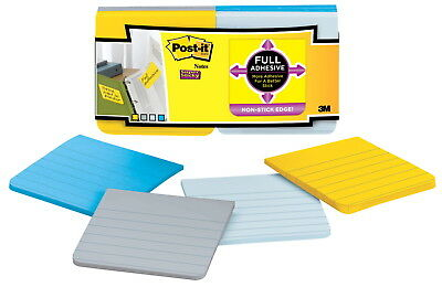 Post-it Full Adhesive Notes, Unlined, Rio De Janeiro, 16 Pads with 25 Sheets
