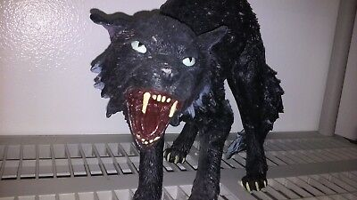 spirit halloween the howler animated werewolf prop with light