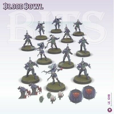 Blood Bowl The Naggaroth Nightmares Dark Elf Blood Bowl Team Gw 2016