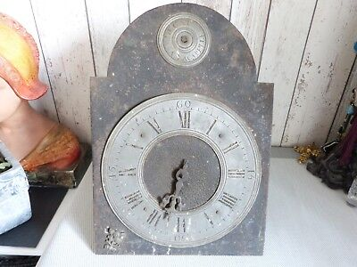 Ancien Mouvement D'horloge Lanterne Comtoise Pendule Xviiieme Antique Clock 18Th