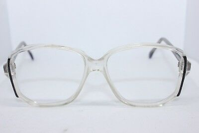 487d1c6b29f Vintage Retro grey clear 1980s Eyewear Glasses Frames for prescription lens