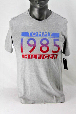 8554063df TOMMY HILFIGER S/S TOMMY GRAPHIC 1985 T-SHIRT GRAY 09T3342004 ...