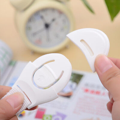 10pcs Child Infant Baby Kids Toddler Safety Cabinet Drawer Cupboard Locks MT220