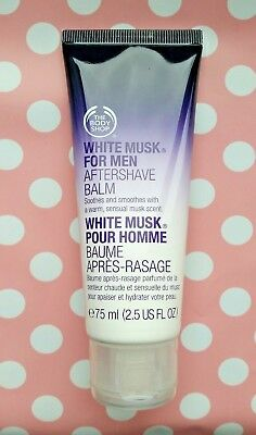 The Body Shop White Musk For Men Aftershave Balm 75 ml