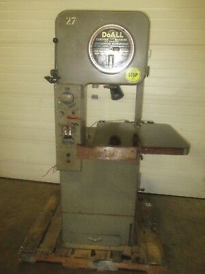 USED DoAll Model #1612-U Vertical Contouring Saw with Welder