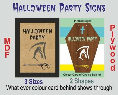 Halloween GRIM REAPER Party Signs wall plaque choices Shape/Size/& more HS11