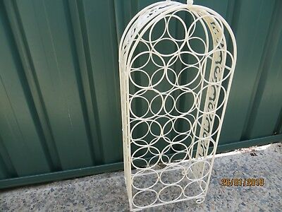 Metal Wine Rack  (20 Bottle)