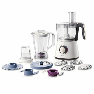 NEW Philips Food Processor & Blender White Colour 750 W Motor HR7761
