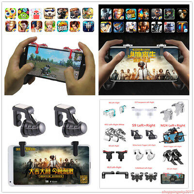 Gaming Trigger Cell Phone Game PUBG Controller Gamepad for Android IOS UK 2018&&