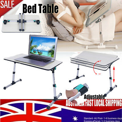Portable Foldable Laptop Desk Laptop Table Bed Table Bed Tray Angle Adjustable