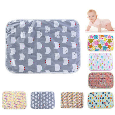 Baby Infant Travel Changing Mat Diaper Nappy Urine Bedding Changing Cover Pads