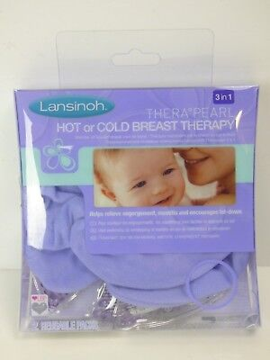 Lansinoh Therapearl 3 in 1 Hot Or Cold Breast Therapy Soothing│2 x Reusable Pack