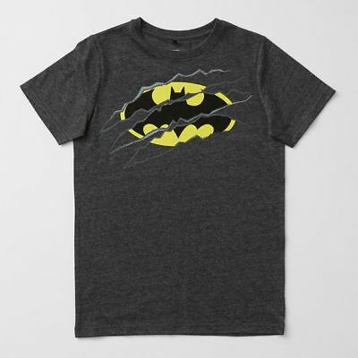 NEW Batman Logo Print T-Shirt Kids