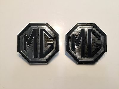 MG ZR  Front Grille and rear boot badges 58mm with lug holes Le500 Colours