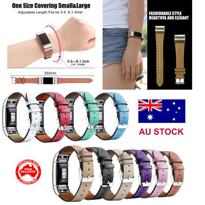 For Fitbit Charge 2 Replacement Band Strap Leather Loop  Watch Wrist Band Clasp