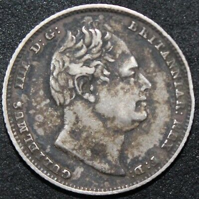 1834 | William IV Sixpence | Silver | Coins | KM Coins