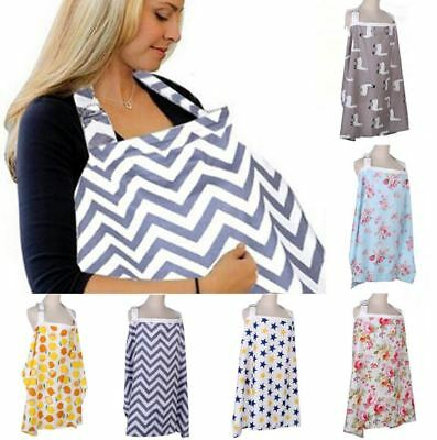 Nursing Cover for Breastfeeding Privacy EXTRA WIDE Free Premium 100% Cotton