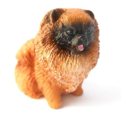 Pomeranian Red Tiny Ones Dog Figurine Statue Resin Pet Lovers