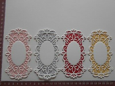 Die cuts - Sue Wilson Mats, 8 pieces, Card Toppers, Embellishments