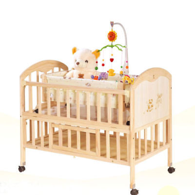 Baby Infant Rotary Crib Bed Bell Nursery Music Mobile Box Holder Hanging Toy