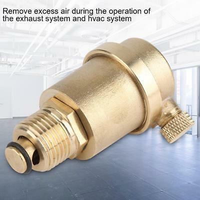 DN15 Brass Automatic Air Vent Valve for Solar Water Heater Pressure Relief