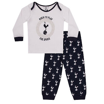 Tottenham Hotspur FC Official Football Gift Boys Kids Baby Pyjamas