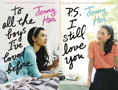 To All the Boys I've Loved Before Jenny Han Double Pack Includes 1st 2 Books!
