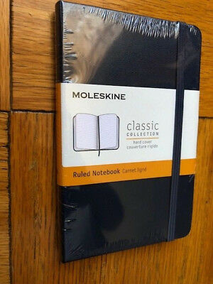 NEW Moleskine NAVY Pocket RULED NOTEBOOK HARD 192 PG. CLASSIC COLLECTION #3564