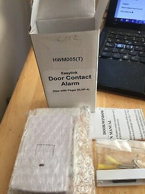 Easylink Hwm0005 Door Contact Alarm For Use With Elvp-4 Pager