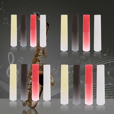 Resin Plastic Clarinet Soprano Alto Tenor Sax Saxophone Reed Accessories Parts