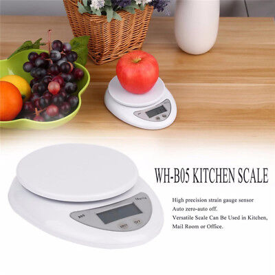 Digital Electronic Kitchen Food Diet Postal Scale Weight Tool - 5kg/1g, 40kg/10g