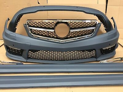 Mercedes Benz C63 AMG Style Bodykit Fits All W204 2012+ Onwards UK Seller