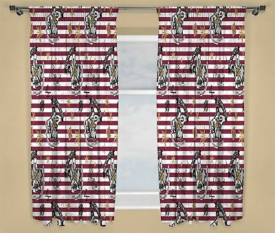 """Harry Potter 'Muggles' Crest Readymade Curtains 66"""" x 72"""" Drop Matches Bedding"""