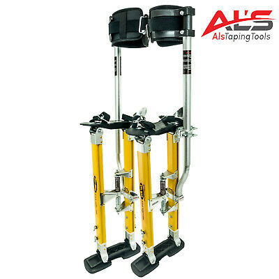 "Sur Pro Sur Mag Single Pole Magnesium Drywall Stilts 24-40"" - Large"