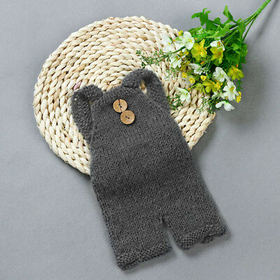 Newborn Baby Knit Crochet Clothes Cute Costume Photo Photography Props Outfit SX