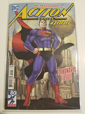 Action Comics #1000 NM 80th Anniversary Jim Lee Cover