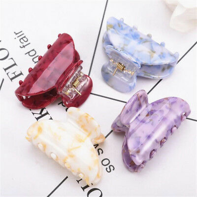 Women High Quality Acrylic Hair Claw Clips Barrette Crab Clamp Hair Accessories