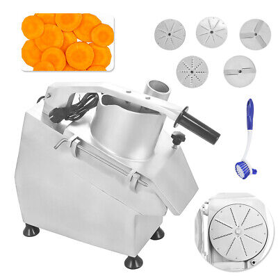 300kg/h Commercial Veg Prep Machine Multifunction Food Processor Slicer Grater