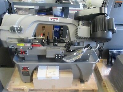 """NEW Jet 7""""x12"""" Vertical & Horizontal Bandsaw on Wheels,Coolant System,3/4"""" Blade"""
