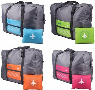 Foldable Travel Bag Luggage Hand Shoulder Storage WaterProof Carry-On Duffle