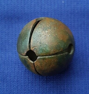 Nice Antique Bronze 18th Century Horse Rumbler or Crotal Bell Detecting find