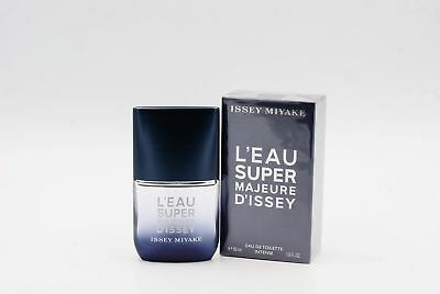 Issey Miyake L`Eau Super Majeure D` Profumo Uomo Edt Spray Intenso 50 Ml Nuovo