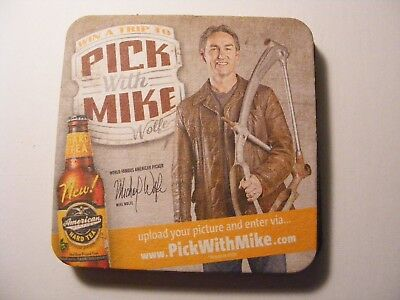 PICK WITH MIKE WOLFE HARD TEA coasters lot of 10  AMERICAN PICKERS