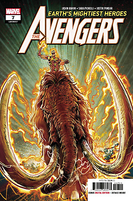 Avengers # 7 First Appearance of the Ghost Rider 1,000,000 BC NM Ready to Ship