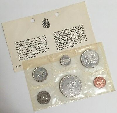 Canada 1965 Proof Like Set Silver Dollar Royal Canadian Mint with COA