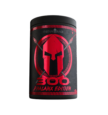 "Gods Rage ""300"" Phalanx Edition Booster 400g, Pump Preworkout Booster"